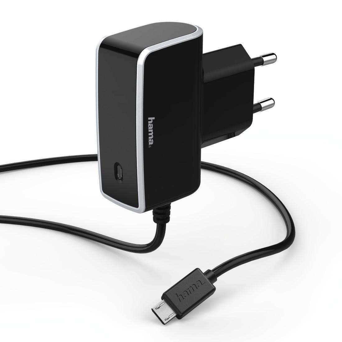 Hama, cestovní nabíječka, micro USB