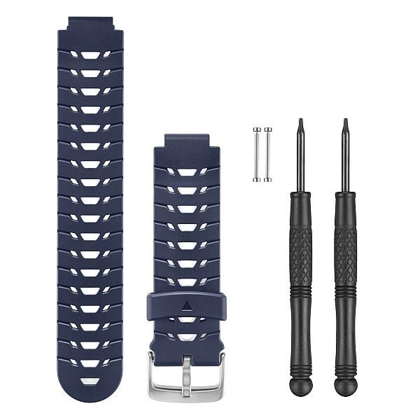 Řemínek pro Forerunner 235 (230/630), silikonový, tmavě modrý