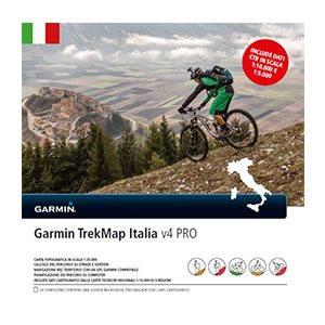 Turistická mapa Itálie, TREKmap® Italia v4 PRO microSD/SD