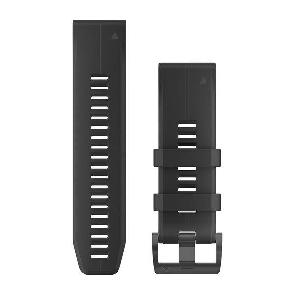 Řemínek pro fenix5X Plus - QuickFit 26, černý