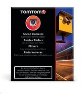 TOMTOM - aktualizace rychlostních radarů na 1 rok
