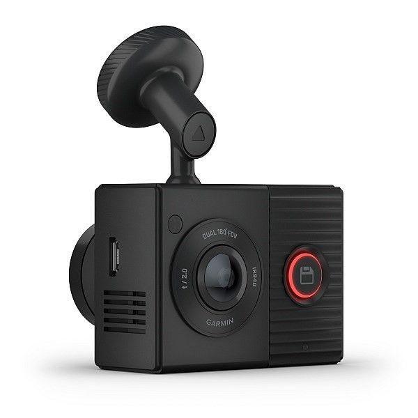 Garmin Dash Cam Tandem - GPS a záznam jízdy i interiéru