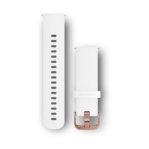 Řemínek pro vívomove Optic/vívoactive3, bílý (velikost S/M)