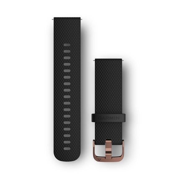 Garmin Řemínek Quick Release 20mm, silikonový černý