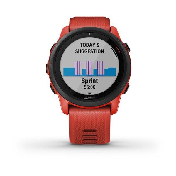 Forerunner 745 Music Music Red sprint