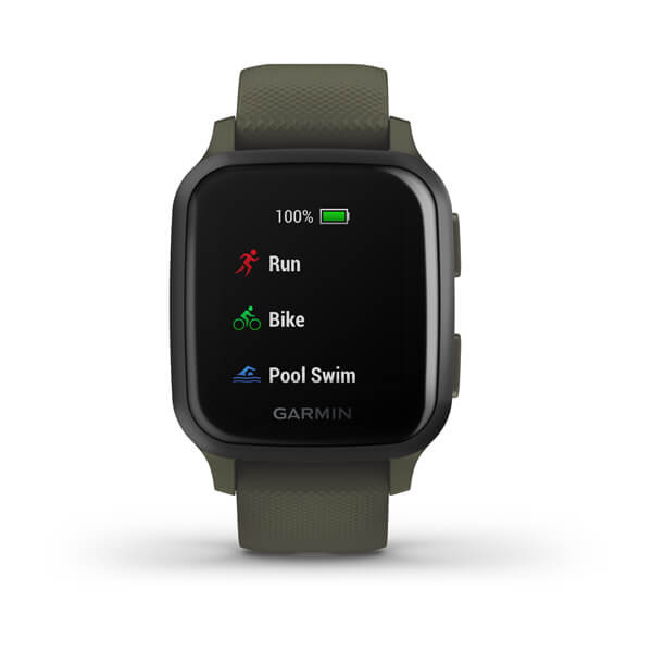 Garmin Venu Sq Music, Slate/Green Band aktivity