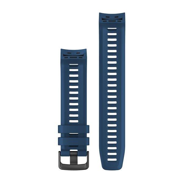 Řemínek pro Garmin Instinct, silikonový, Tidal Blue (tmavě modrý)