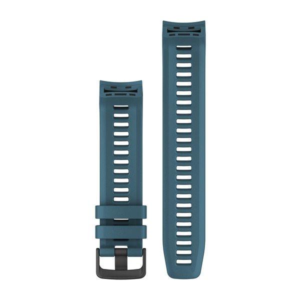 Řemínek pro Garmin Instinct, silikonový, Lakeside Blue (modrý)
