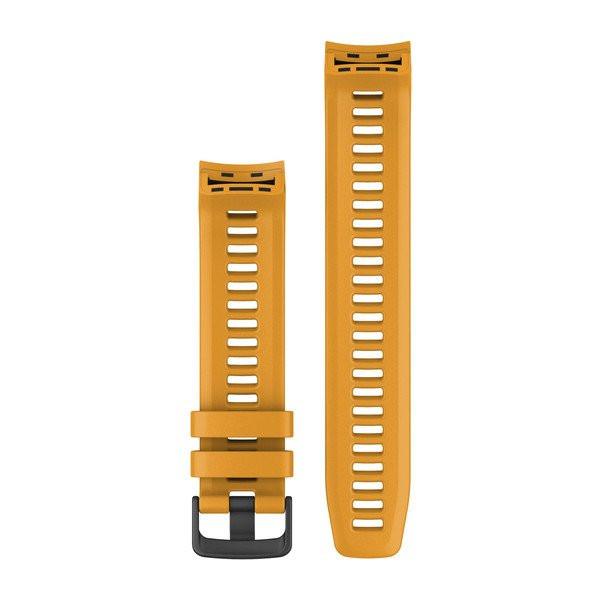Řemínek pro Garmin Instinct, silikonový, Sunburst (žlutý)
