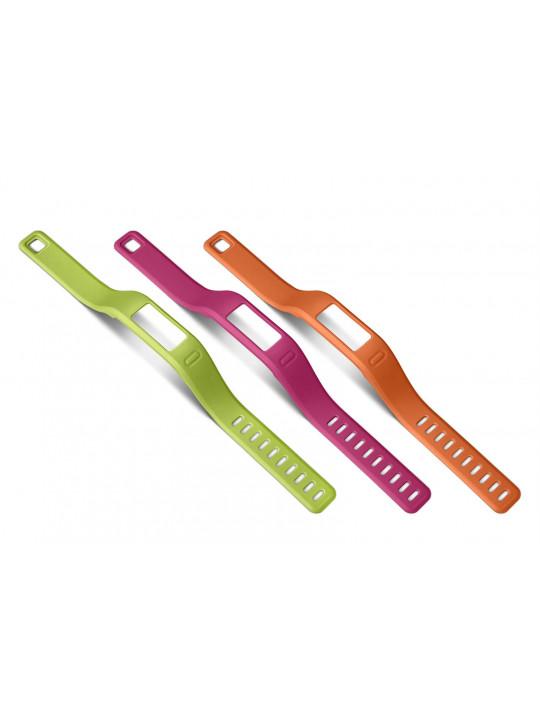Řemínky náhradní pro vívofit orange, pink,green (malý průměr)