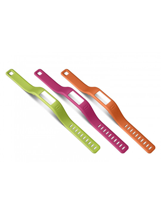 Řemínky náhradní pro vívofit orange, pink, green (velký průměr)