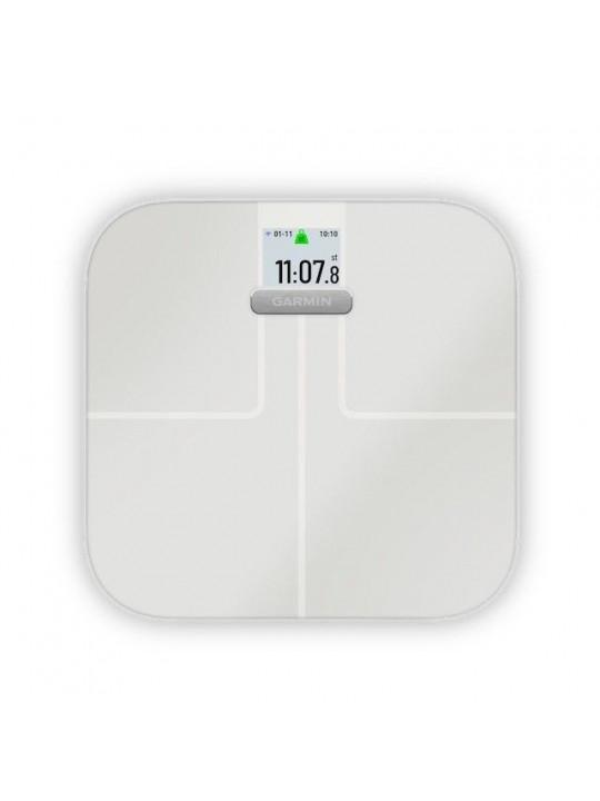 Garmin Index S2 White - chytrá váha, bílá barva