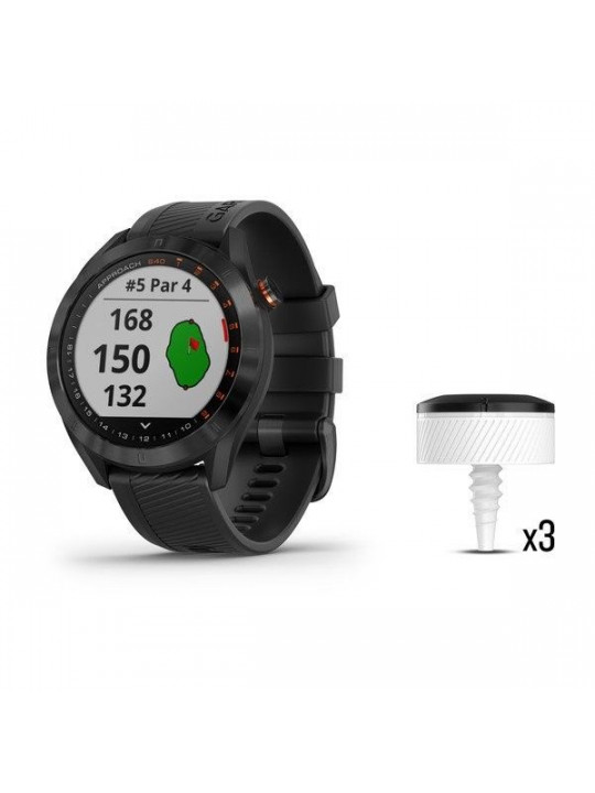 Garmin Approach S62 Black Bundle