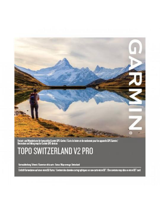 Garmin - turistická mapa Švýcarska, TOPO Switzerland v2 PRO