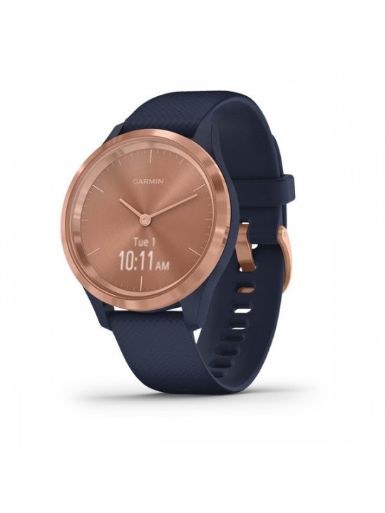 Garmin vivomove3S Sport, RoseGold/Blue Band