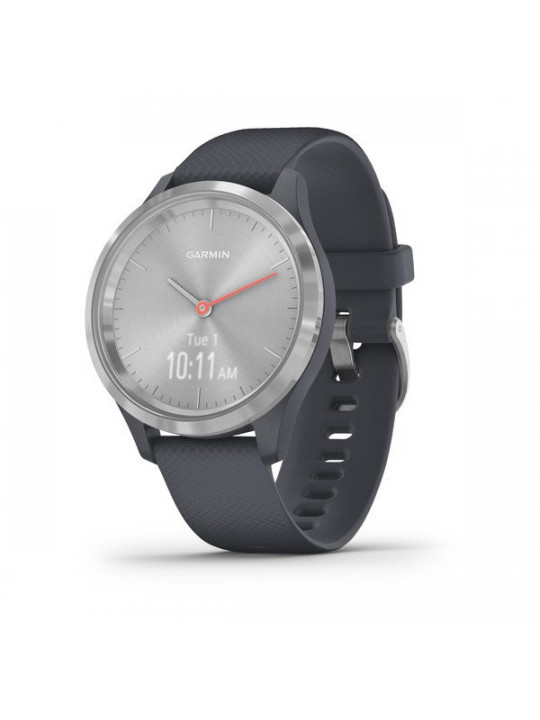 Garmin vivomove3S Sport, Silver/Gray Band