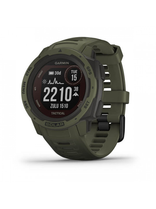 Garmin Instinct Solar Tactical Green Optic