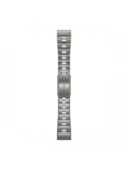 Řemínek pro fenix6X - QuickFit 26, titanový, světlý