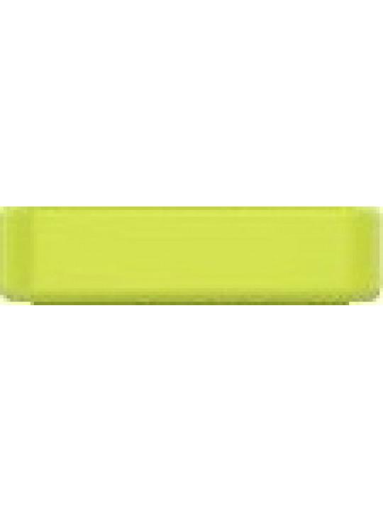 Garmin keeper - žluté silikonové poutko k řemínku pro fenix5S