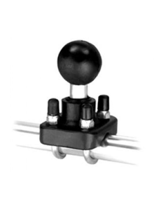 """RAM - Objímka s dvojitým třmenem a 1"""" koulí"""