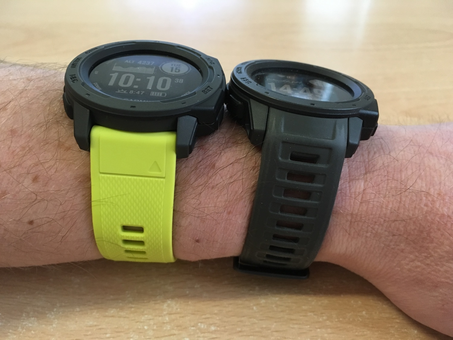 Garmin Instinct + QuickFit22
