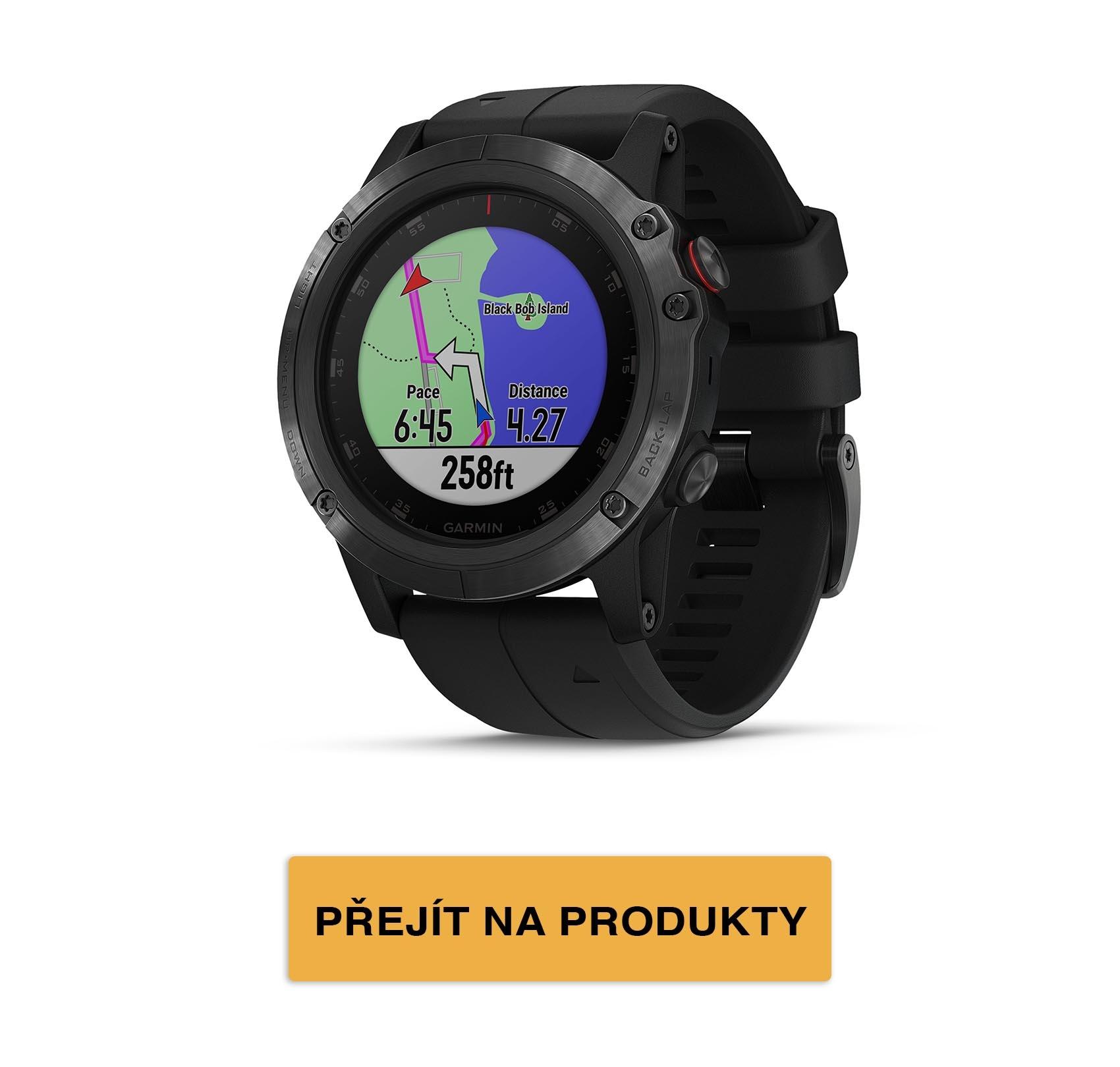 fēnix5 Optic Plus - mapa