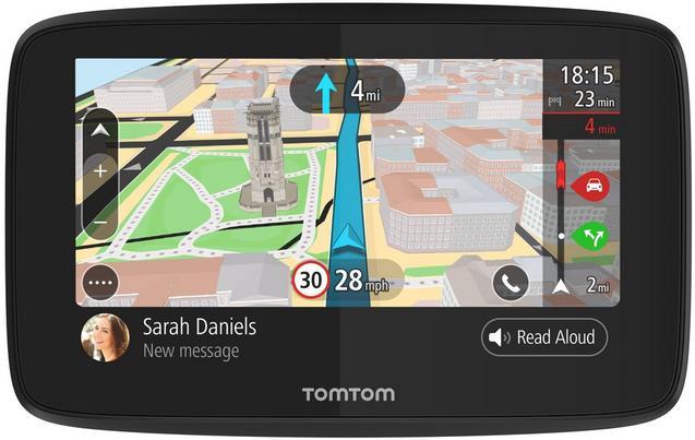 TomTom - Bluetooth a živá doprava